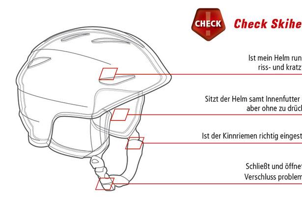Ist mein Helm noch sicher? Die besten Tipps zum Helmcheck für Skifahrer- ©www.sicher-im-schnee.de