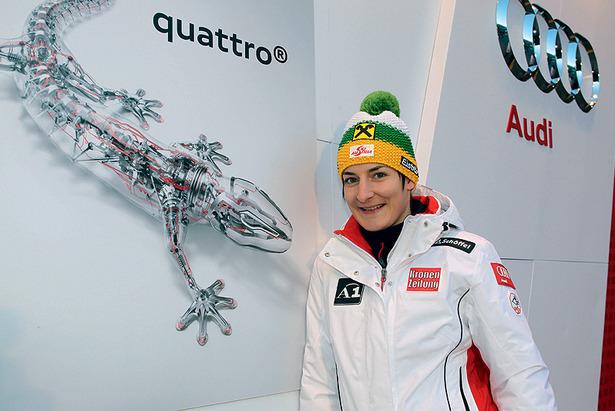Ski-Weltcup in Aspen: Kathrin Zettel muss absagen ©Audi
