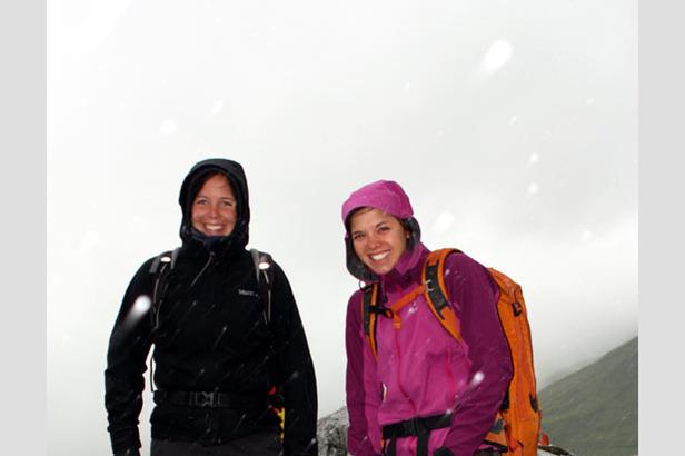Klettersteig Graubünden : Wetterkapriolen im rätikon: ein tag mit nina caprez in graubünden