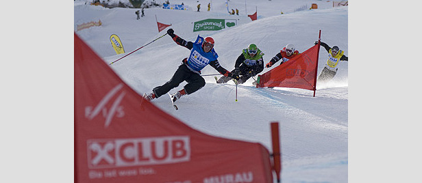 Video der Woche: Ski Cross Weltcup Les Contamines 2008- ©Karl Fussi