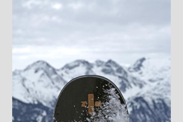März 2010: Skibauer bei zai in Disentis- ©zai