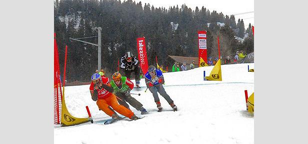 Austrian-Swiss Skicross-Season Super Final 2007- ©Patrick Gautschy
