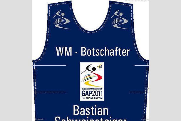 Bastian Schweinsteiger Botschafter der Ski-WM 2011- ©Garmisch-Partenkirchen Tourismus