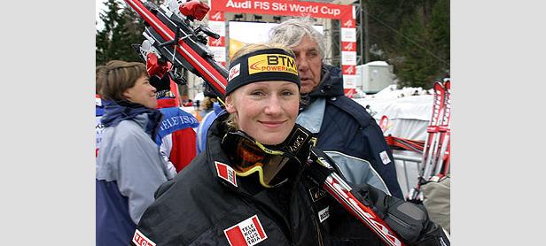 Nadia Styger holt ersten Weltcupsieg - Maria Riesch auf zweitem Platz ©G. Löffelholz / XnX GmbH