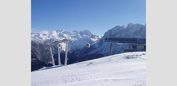 Erste Schneeprobe am Arber bestanden- ©Dachstein West