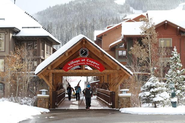 Copper Mtn CO Union Creek East Village. Photo courtesy of Copper Mountain Resort