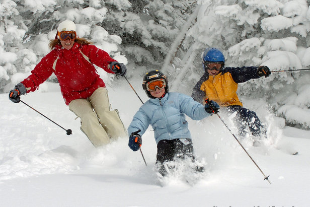 Grand Targhee Resort: a family hits powder Photo: Grand Targhee Resort