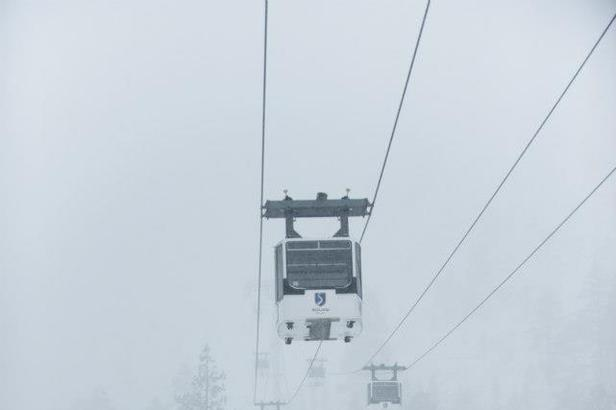 First snow at Squaw Valley. Photo: Squaw Valley/Facebook