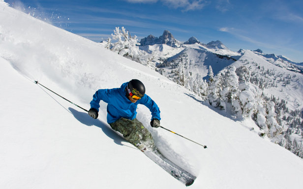 Early-Season Skiing: Grand Targhee, Wyoming- ©Grand Targhee