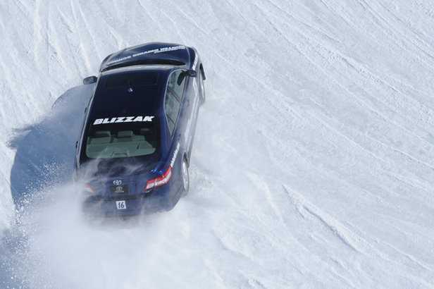 Car winterising and snow driving tips- ©Bridgestone Driving School