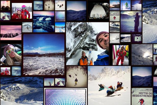 Skiinfo - Instagram galleri med brukernes bilder (oppdateres live)- ©Instagrambrukere