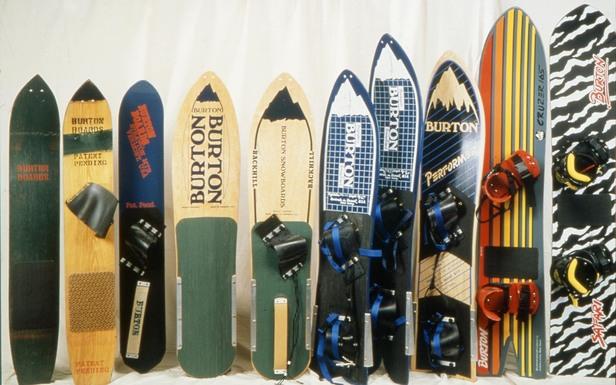 Jake Burton ist einer der Pioniere und seine Snowboards sind seit 1977 Zeitzeugen der Geschichte und einer Lebenseinstellung