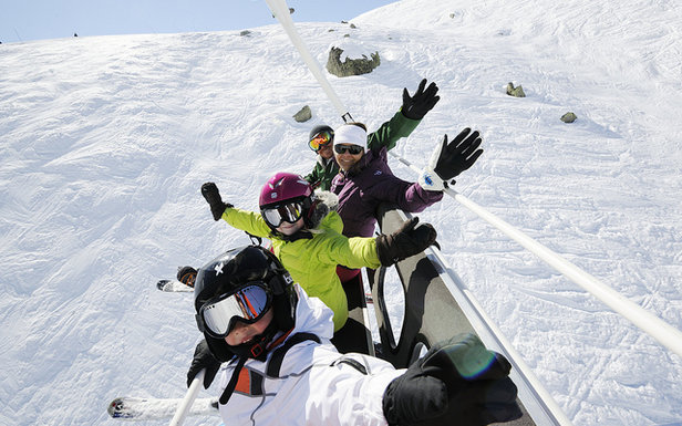 Bien préparer votre skieur en culotte courte- ©OT Val Thorens-P.Lebeau