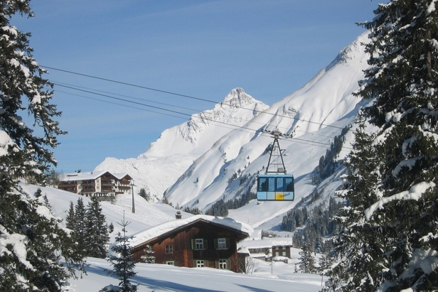 The highest ski resorts in Europe- ©Oberlech