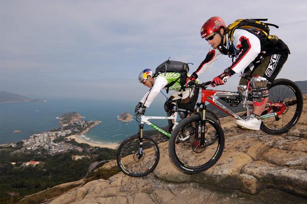 Mountainbiken in Hongkong