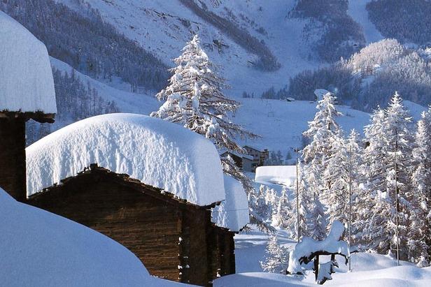 Enneigement en Suisse (21/12/2012)