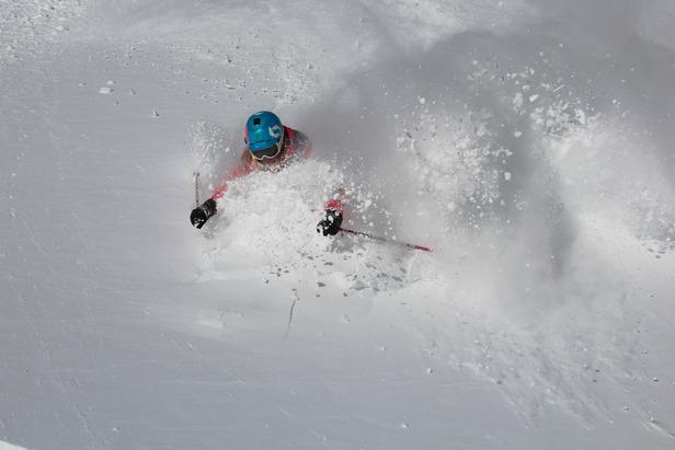 Jackson Hole powder this winter. Photo courtesy of Jackson Hole Mountain Resort.
