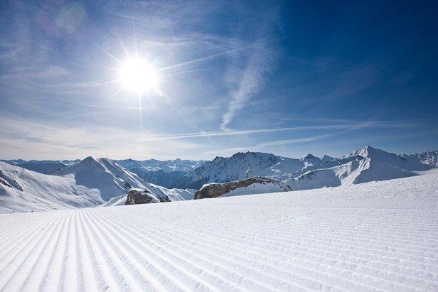 Das große Schmelzen: Viele Skigebiete kürzen Pistenkilometer-Angaben ©Andrea Badrutt/Chur