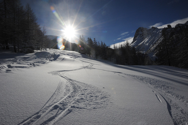 Bardonecchia, Piemonte - Neve fresca Gennaio 2013