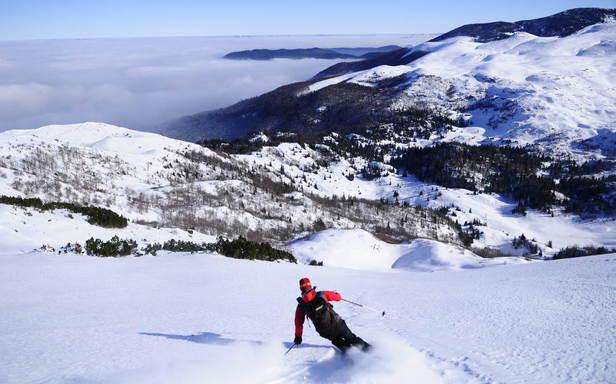 La poudreuse des Alpes s'invite en Bosnie - ©© Eric BEALLET
