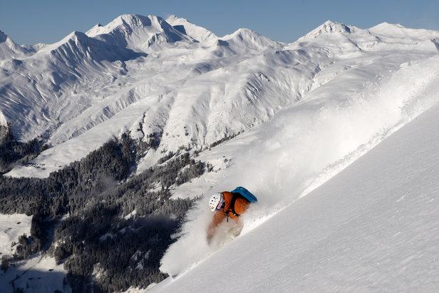 Lyžovačka v Davose