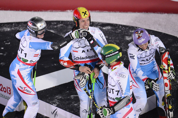 L'Autriche tient son or / Team Event, Schladming 2013