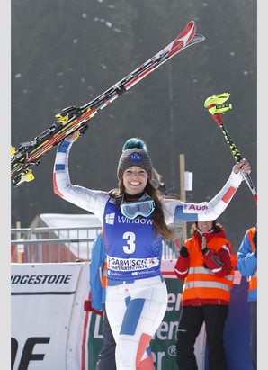 Tina Weirather, Garmisch 2013