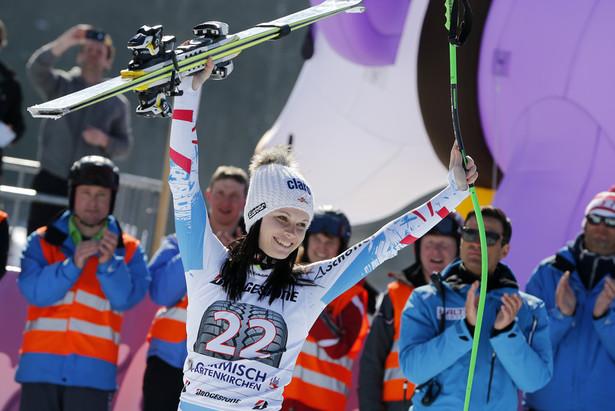 Garmisch : Anna Fenninger impressionne- ©Agence Zoom