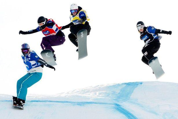 Snowboardcross Veysonnaz