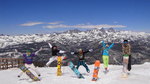 Top Spring Skiing Destinations: Mammoth Mountain- ©Courtesy of Mammoth Mountain