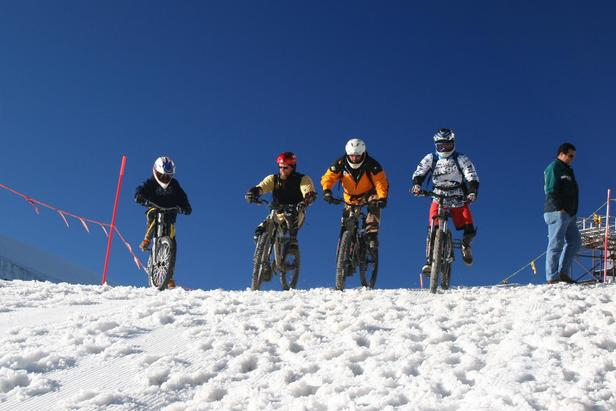 Cervinia Snow Bike