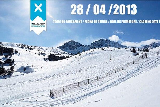 Las estaciones de esquí de Cataluña y Andorra amplian la temporada- ©Grandvalira