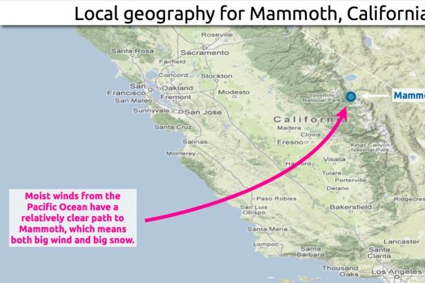 Mammoth Mountain Snow 101- ©OpenSnow.com