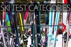Infographic: 2015 Ski Test Category Breakdown - © Cody Downard Photography