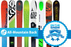 The 8 Highest-Rated 2015/2016 Men's All-Mountain Back Skis