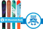2015/2016's 4 Top Women's All-Mountain Back Skis