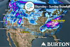 Snow Before You Go: Powder Refills for West, Northeast ©Meteorologist Chris Tomer