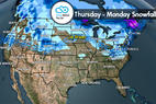 Snow Before You Go: Snow for Rockies & Northeast - © Meteorologist Chris Tomer