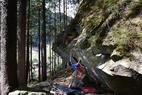 Bouldern im Zillertaler Naturpark: Drei Top-Gebiete für Problemlöser - ©Matthias Schiestl