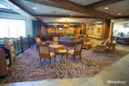 Lobby at the Glacier Canyon Lodge