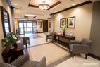 Lobby at the Holiday Inn Express Hotel & Suites Huntsville