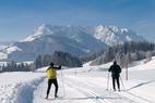 Kaiserwinkl an der Spitze der europäischen Beliebtheitsskala im Skilanglauf