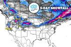 Large Storm System for West & East: 3.28 Snow B4U Go - © Meteorologist Chris Tomer