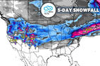 Pineapple Express to Bury West Under 1-3 Feet: 2.28 Snow B4U Go - © Meteorologist Chris Tomer