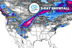 Big Storm & 1-2 Feet for Intermountain West: 3.14 Snow B4U Go - © Meteorologist Chris Tomer
