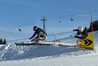 Ski Cross Weltcup startet in Les Contamines - ©Christoph Perreten