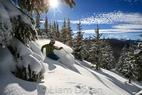Návod na fotenie lyžovania, časť 2: Kompozícia - © Liam Doran