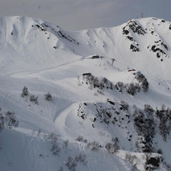 Skifahren im Skigebiet Rosa Khutor (RUS) - © Christoph Schrahe