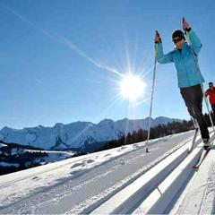 Cross-country skiing in Lake Annecy Ski Resorts