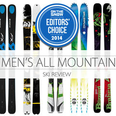 9 Best 2014 All-Mountain Skis for the Fellas